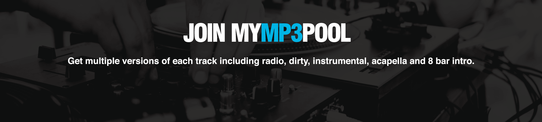 The Best DJ Pool | MyMP3Pool | $19 95/Month