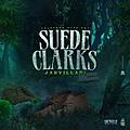 Suede Clarks